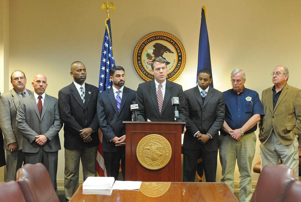 Feds indict 14 in 'meth ring' distributing drugs to southwest Louisiana _lowres