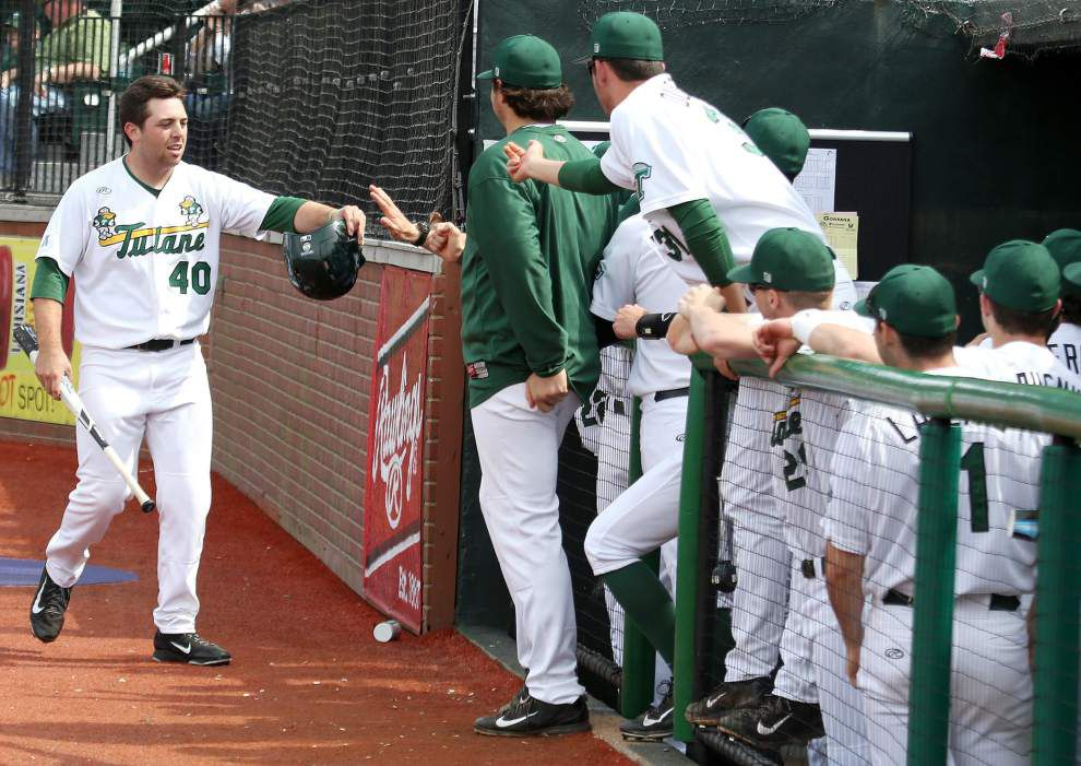 Tulane bounces back, avoids sweep with 3-0 win over Gonzaga _lowres
