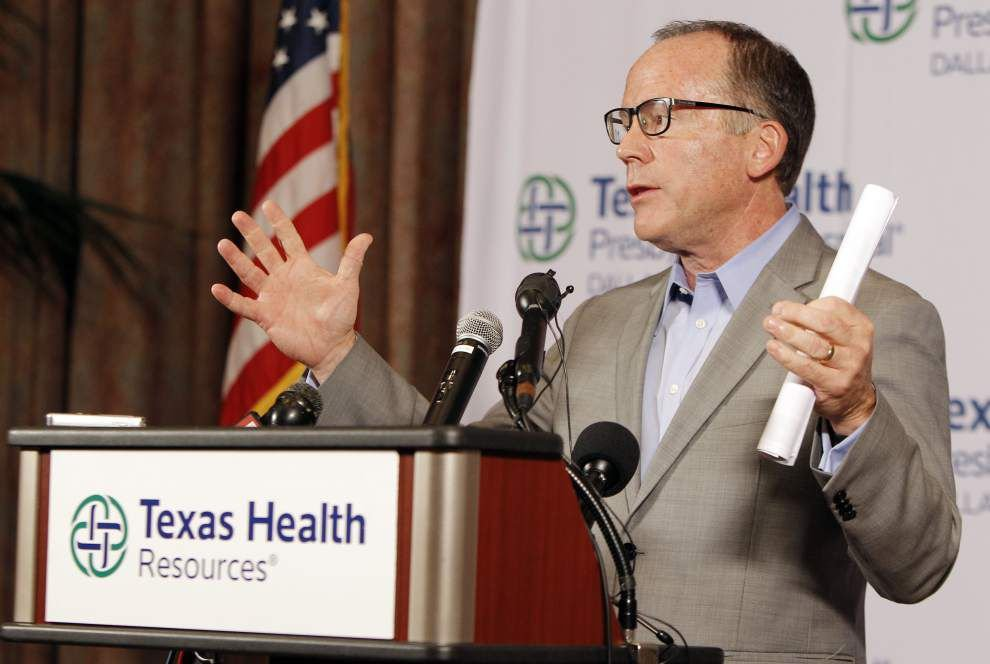 Dallas health care worker tests positive for Ebola _lowres