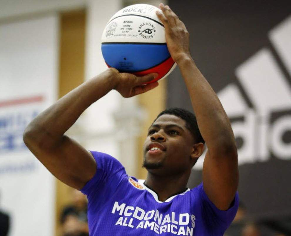 Report: LSU basketball target Malik Newman to commit to an SEC West school other than LSU _lowres