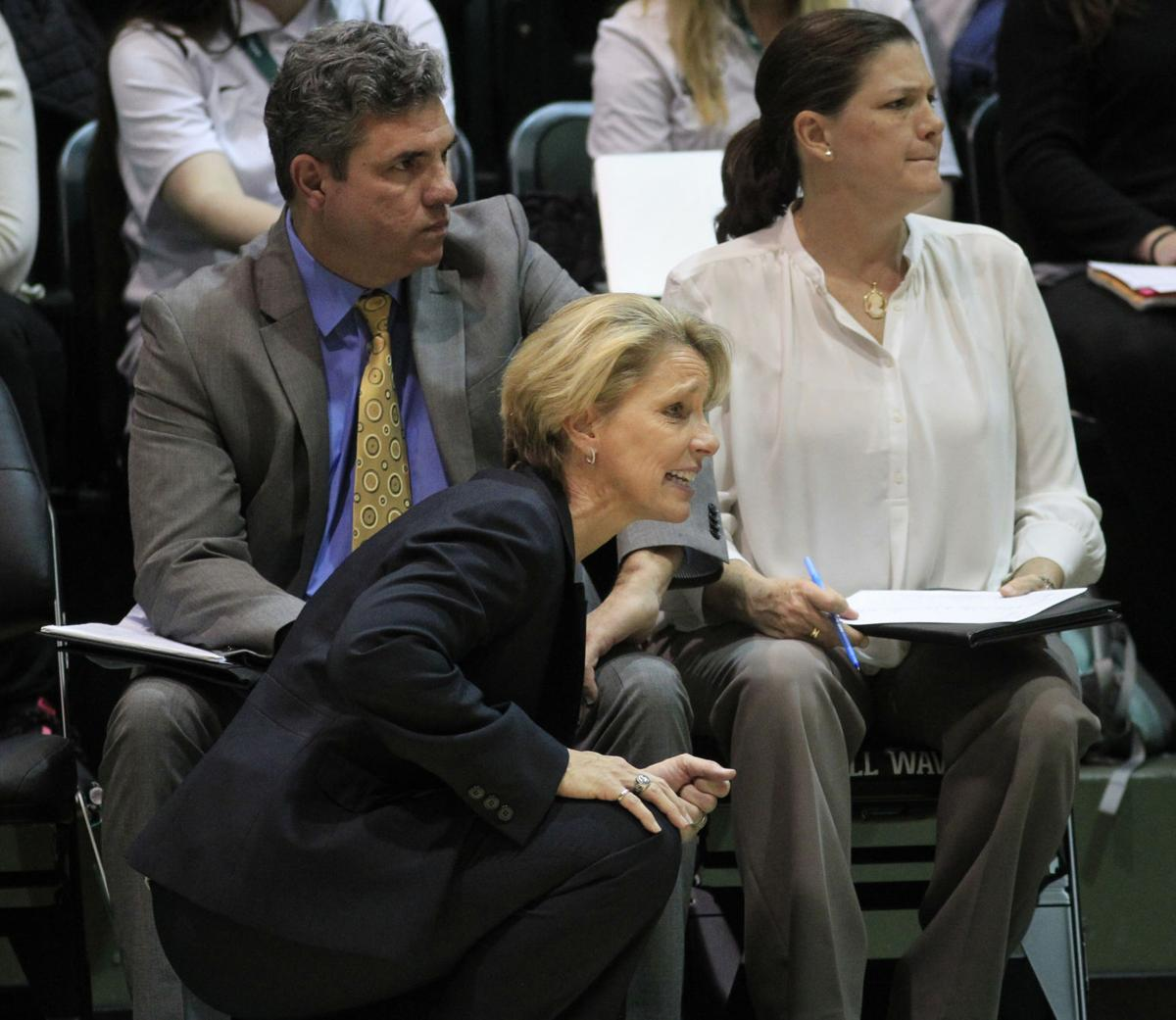 c6ec18a09cc8 Tulane coach Lisa Stockton one win away from No. 500 as Wave faces Nicholls