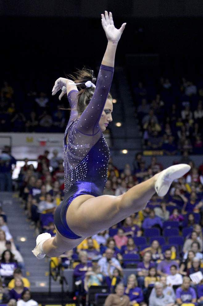 LSU gymnastics: Tigers move up to No. 3; Lexie Priessman expected to return Friday _lowres
