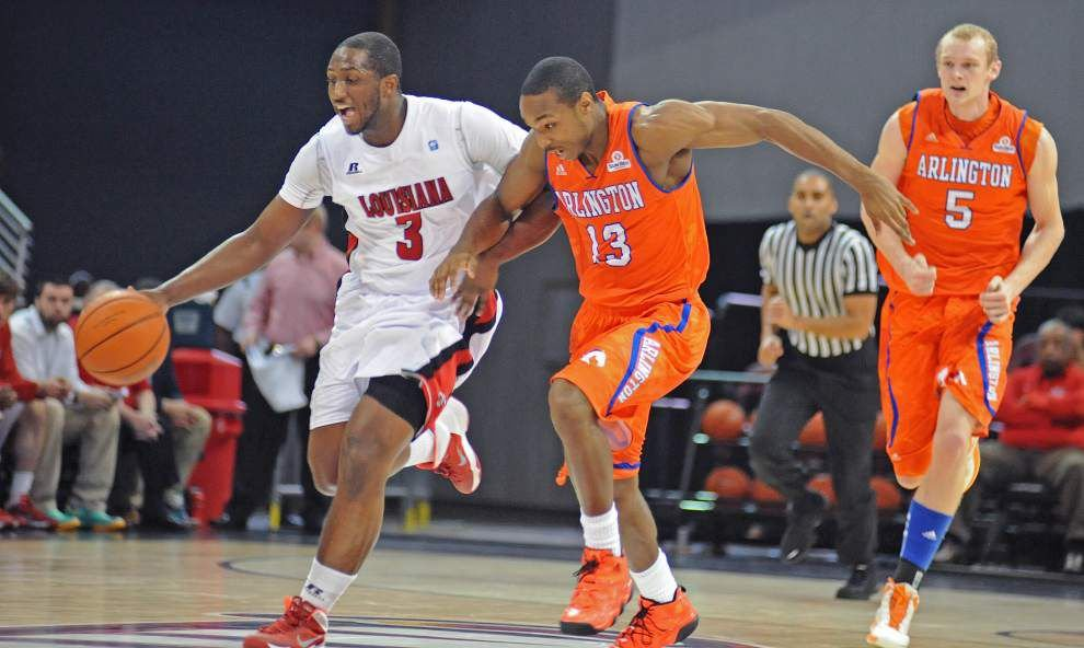 Defense pulls Cajuns past UTA 90-70 _lowres