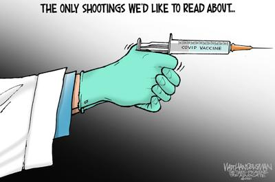 Walt Handelsman: Vaccines Save Lives