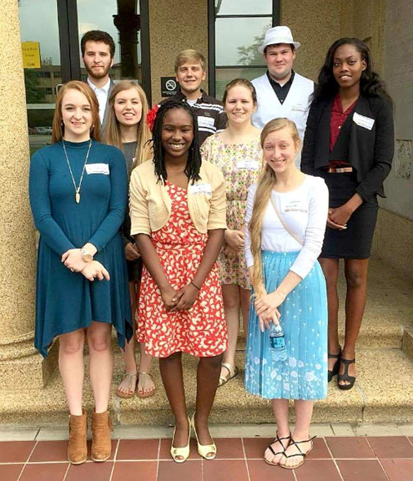 West Feliciana High choir students excel at state rally _lowres
