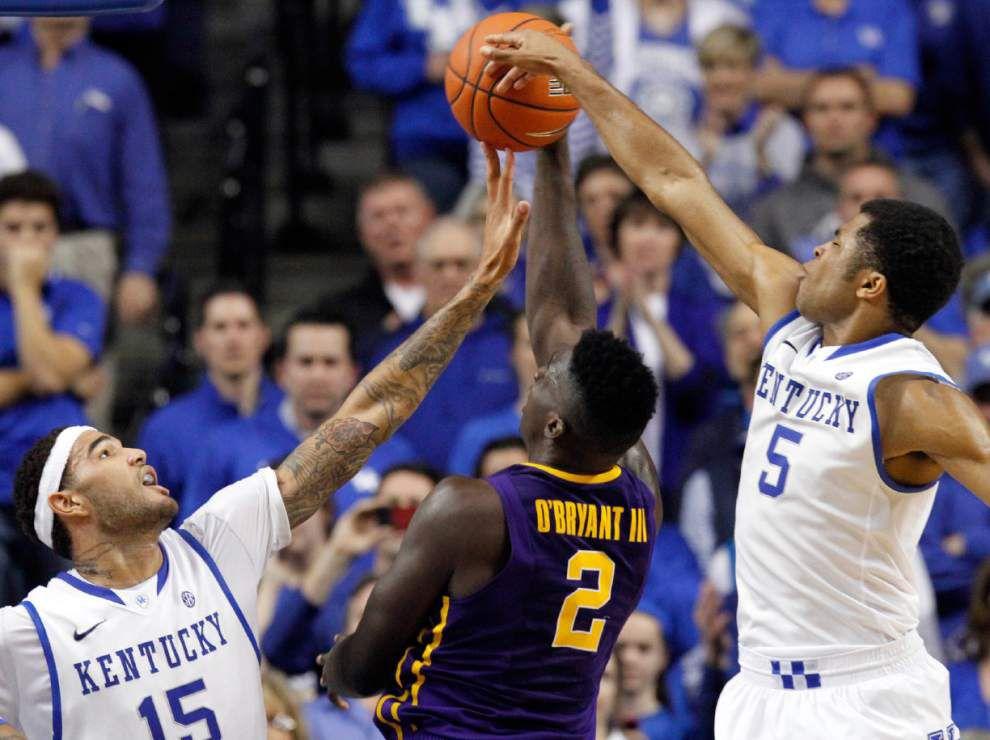 Harris: LSU men's basketball team near bottom of SEC pileup _lowres