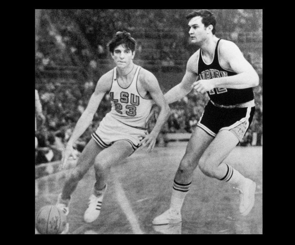 Arena named for him, but LSU basketball legend Pete Maravich ineligible for statue; some want to change that _lowres