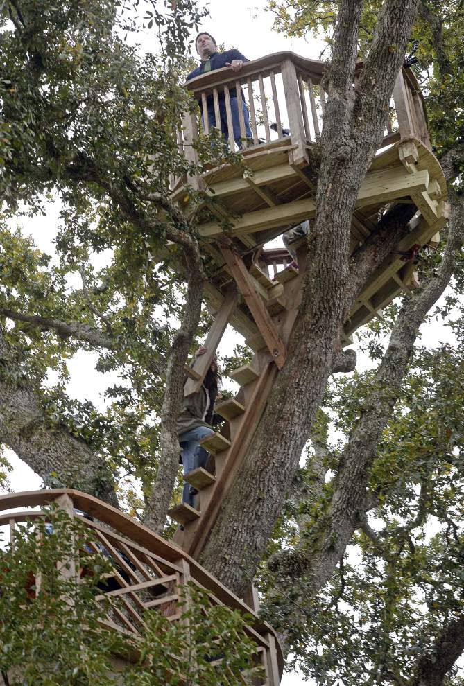 Raising Cane's founder Todd Graves turned to 'Treehouse Masters' for help and got more than he ever dreamed _lowres