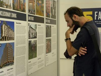 Affordable housing exhibit pops up at Tulane City Center_lowres