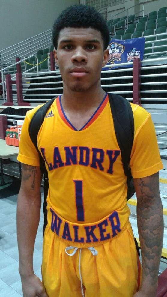 Rod Walker: Landry-Walker guard Lamar Peters' special night includes 10 three-pointers _lowres
