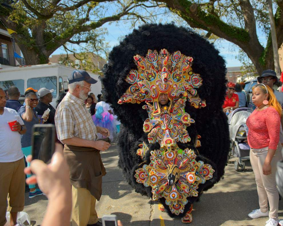 Photos: Super Sunday Mardi Gras Indian Big Chief _lowres