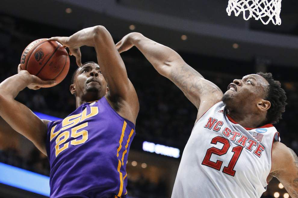 LSU forward Jordan Mickey has decided to enter the NBA Draft _lowres
