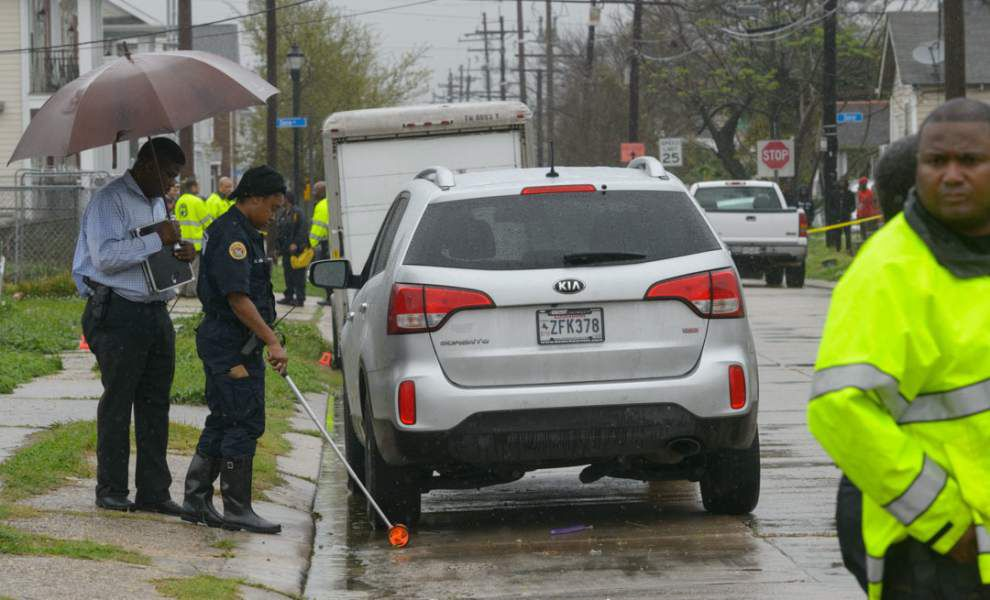 Man shot to death in front of twins in Gentilly; victim of Algiers gas station shooting dies _lowres