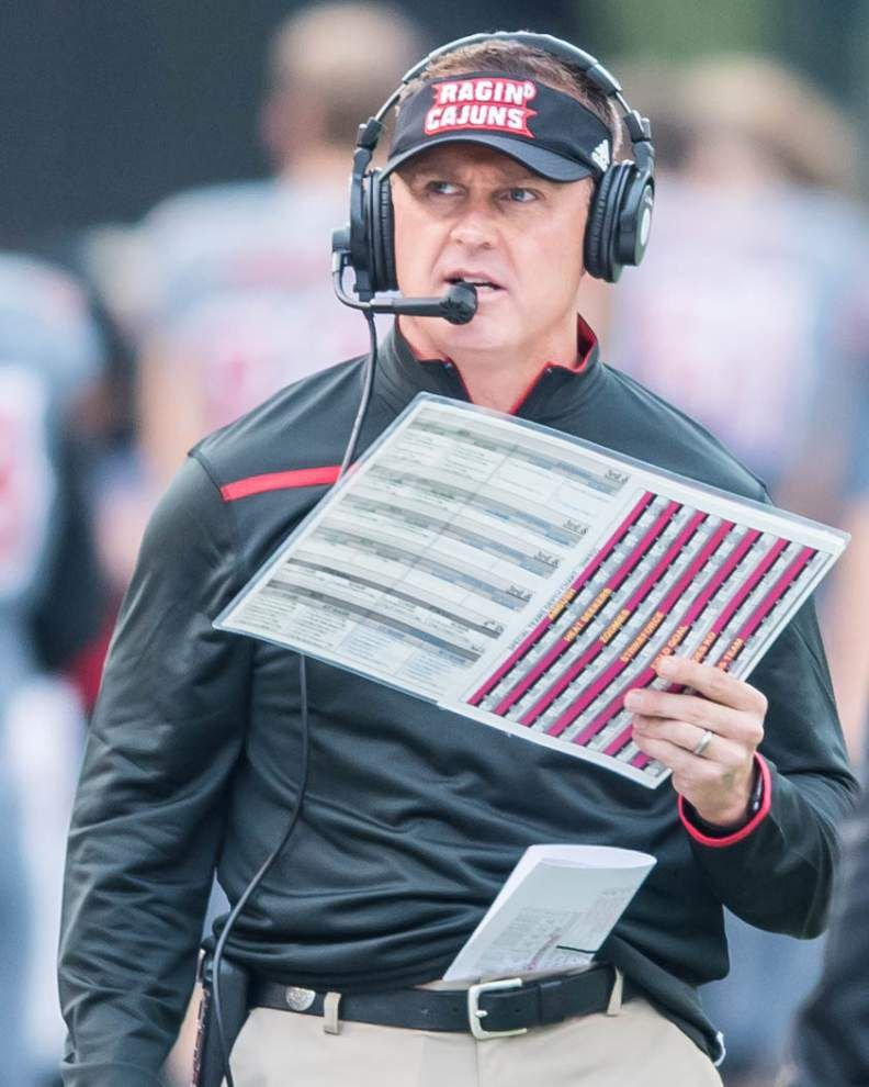 Photos: Ragin Cajuns unable to hold off New Mexico State Saturday _lowres