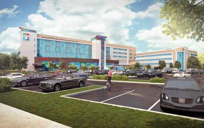 Our Lady of the Lake releases rendering of what Children's Hospital will look like _lowres