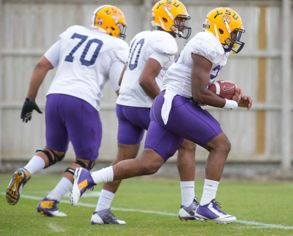 LSU inside edition: Morning practice No. 2 _lowres