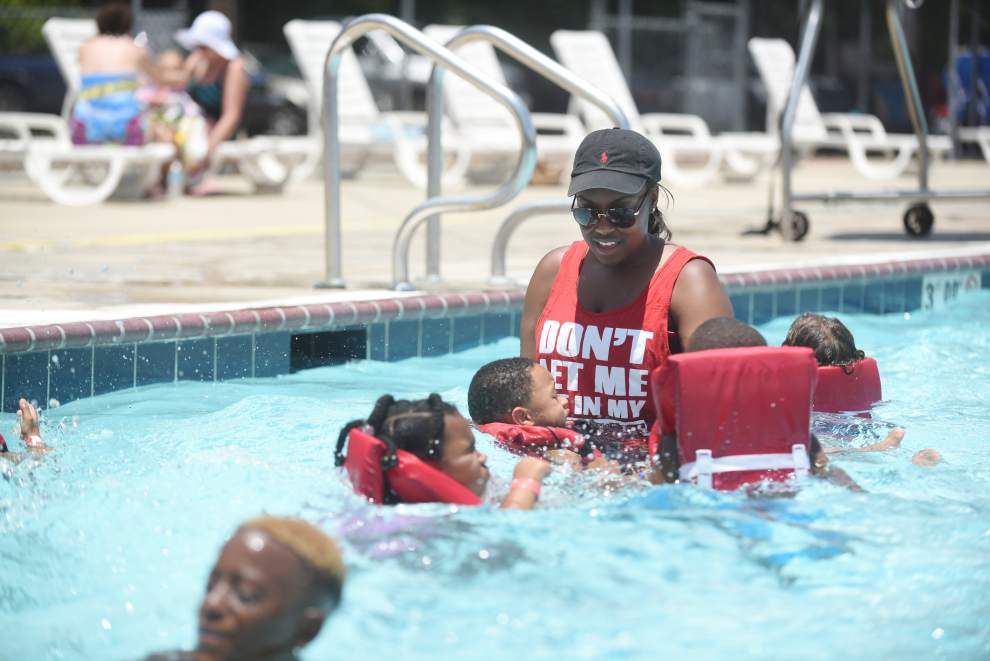 Swim lessons at YMCA not just for children _lowres