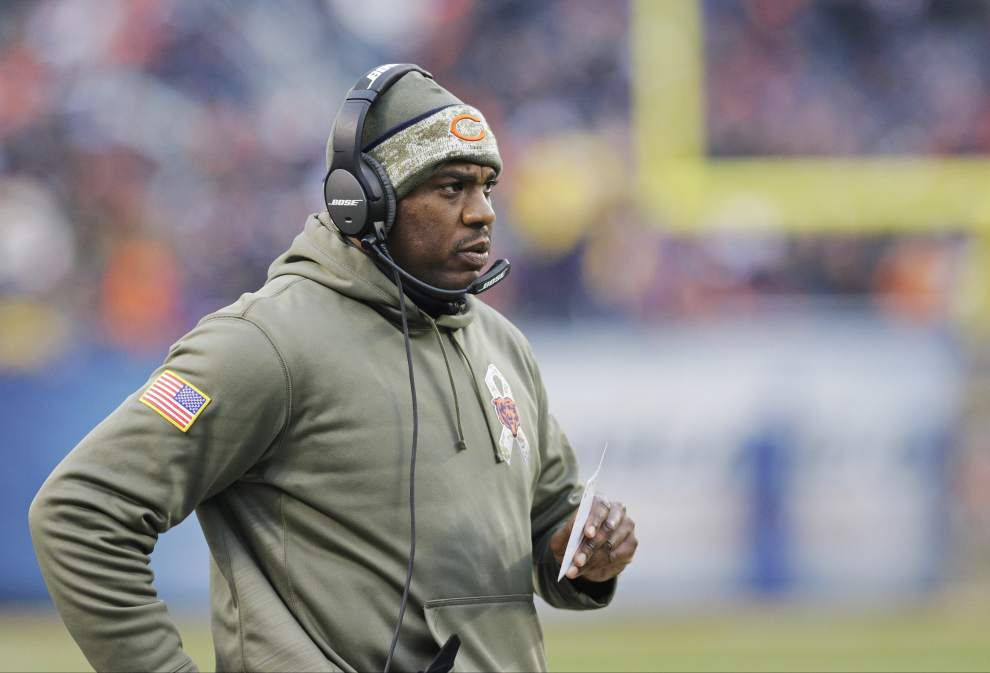 LSU has been in contact with Alabama defensive coordinator Kirby Smart, Bears defensive coordinator Mel Tucker about job _lowres