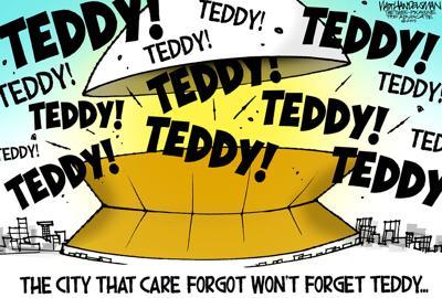 Walt Handelsman: Teddy! Teddy! Teddy!