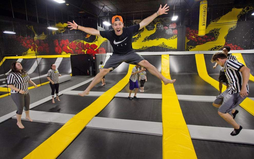Video: Trampoline parks bring high-flying fun to Baton Rouge _lowres