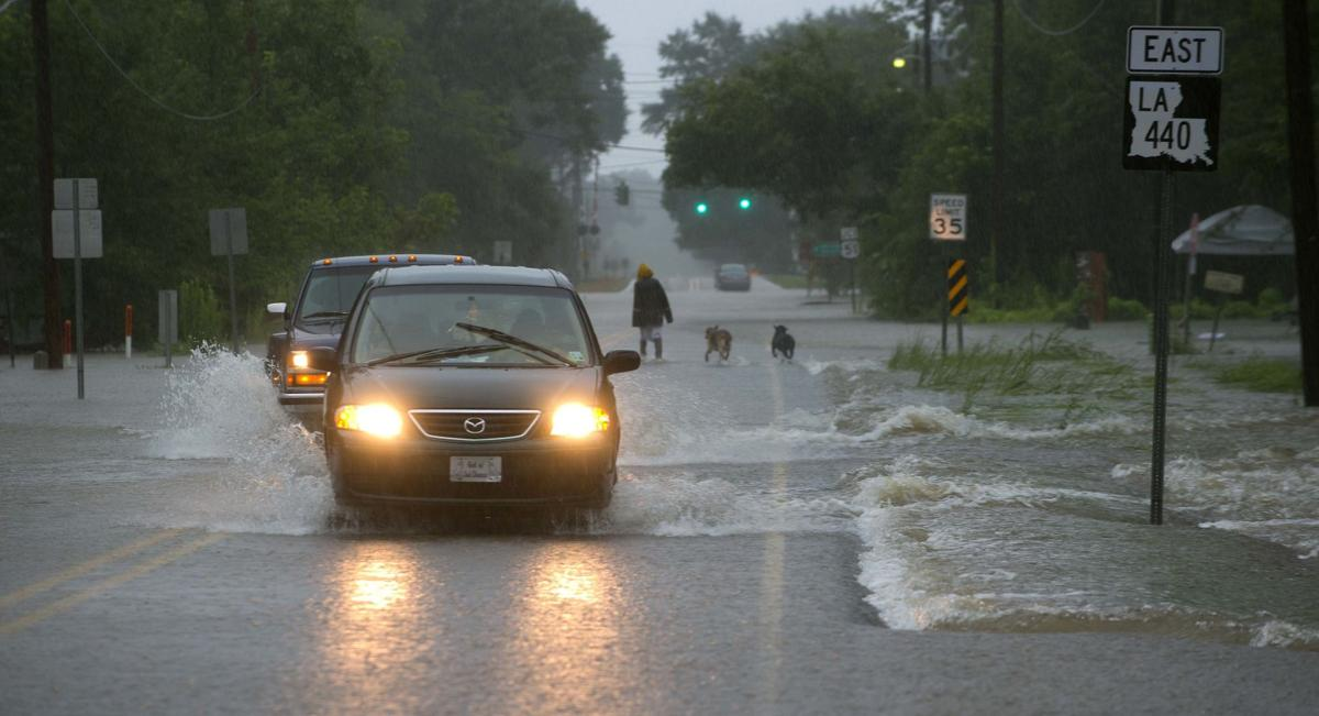 Historic rain, floods blast areas from East Baton Rouge and