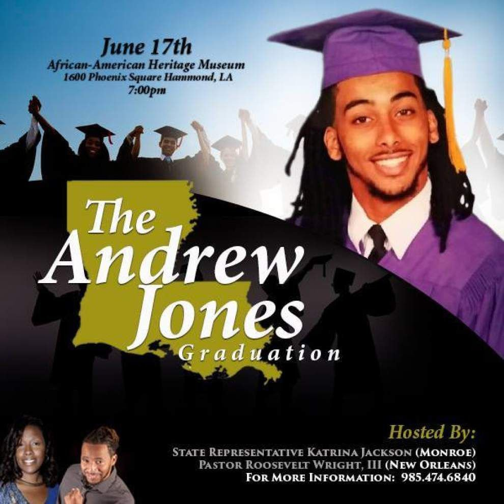 State representative, others plan graduation for Amite valedictorian banned from school ceremony over facial hair _lowres