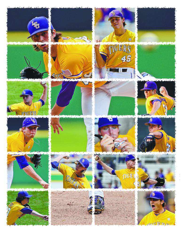 Lefty reliever Zac Person at the top of LSU's pitching plan in second CWS elimination game _lowres
