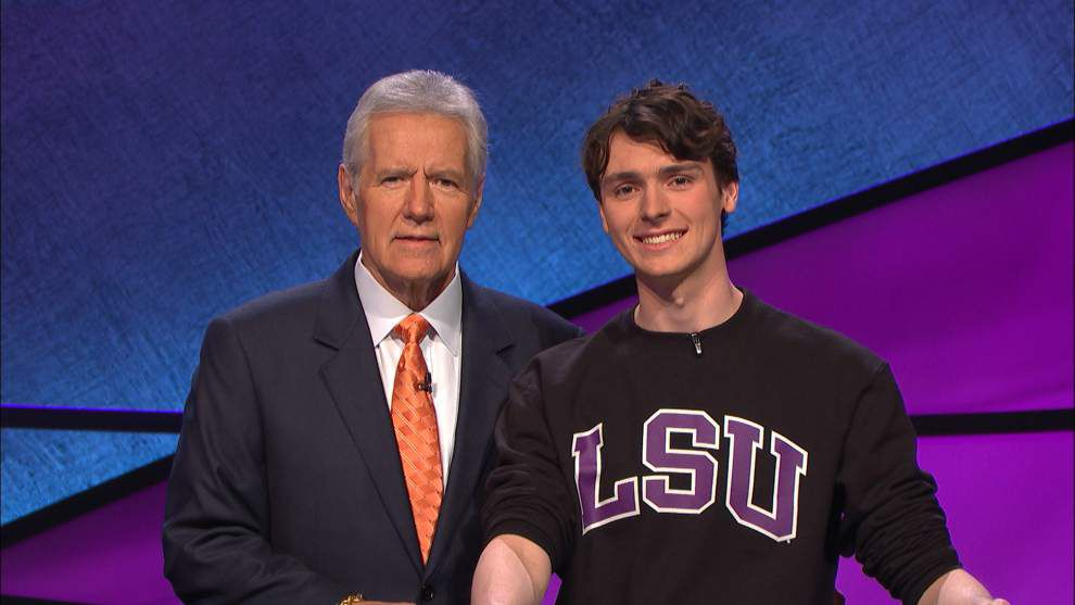 LSU student competes on 'JEOPARDY!' at 4:30 p.m. today _lowres