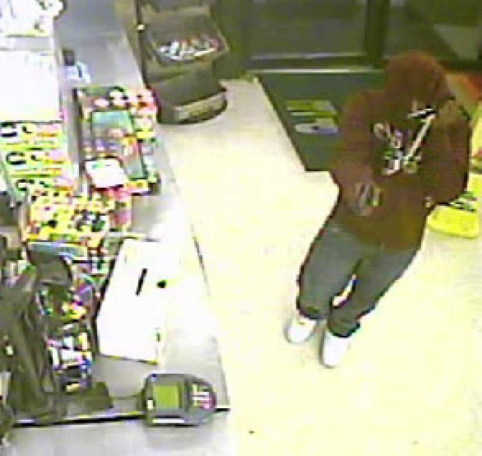Scott Police release video image of armed robber _lowres