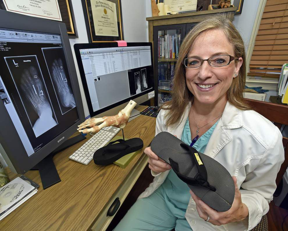 The Healing Sole, born in Baton Rouge, a brand new way of easing plantar fasciitis _lowres