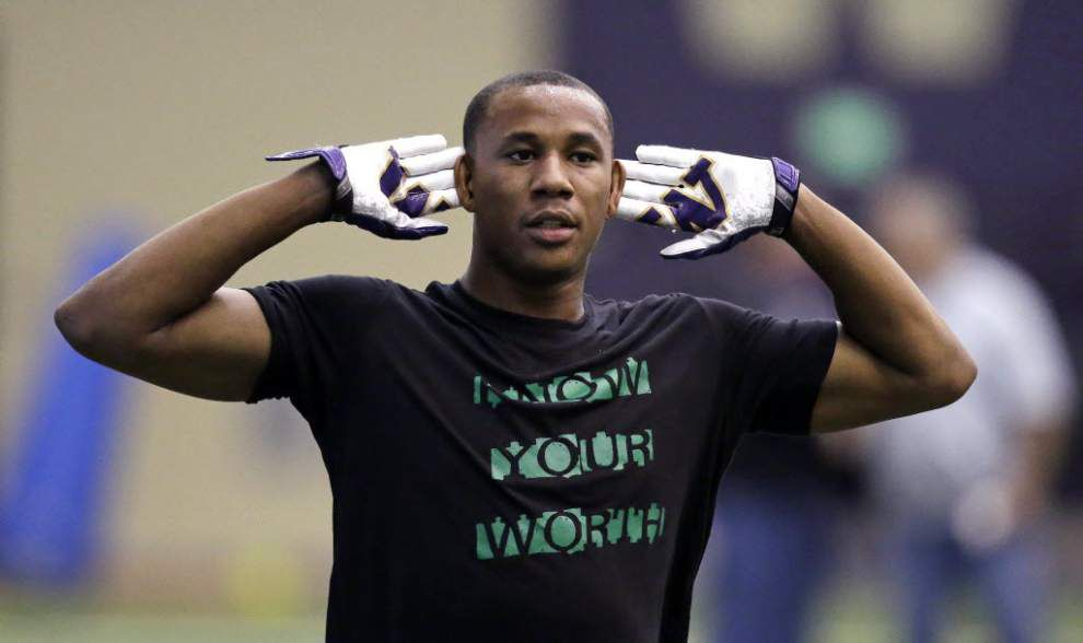 Source: Washington defensive back Marcus Peters among handful of prospects visiting Saints on Monday _lowres
