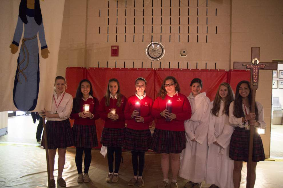 School celebrates holy day with prayer, music _lowres