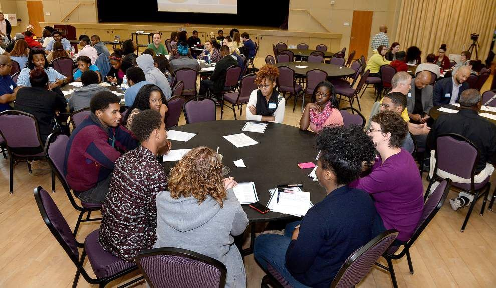 Baton Rouge high school, college students talk about unrest in Ferguson, racial profiling, promoting equality _lowres
