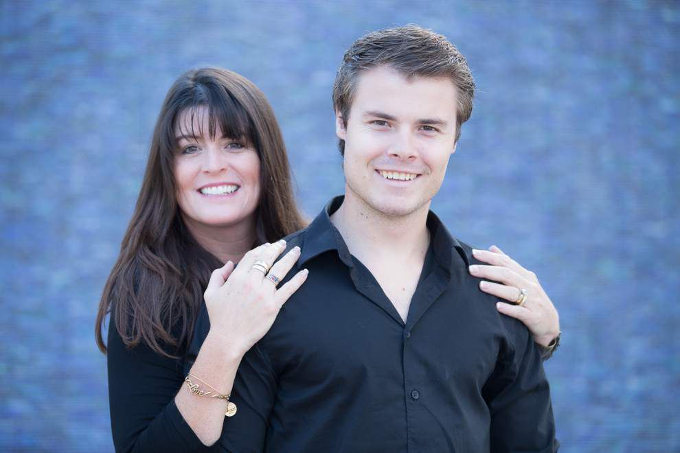 Step Up: Book by wife of former Saint spotlights blended families _lowres