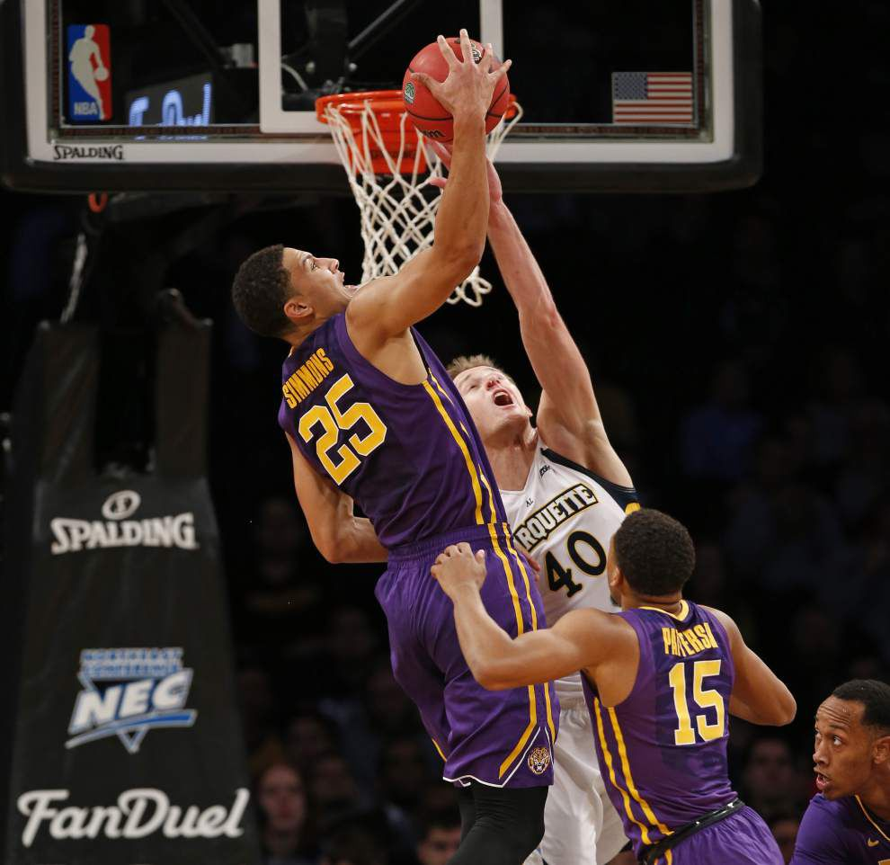 Marquette nips LSU as Tigers' Ben Simmons, Golden Eagles' Henry Ellenson put on a show _lowres