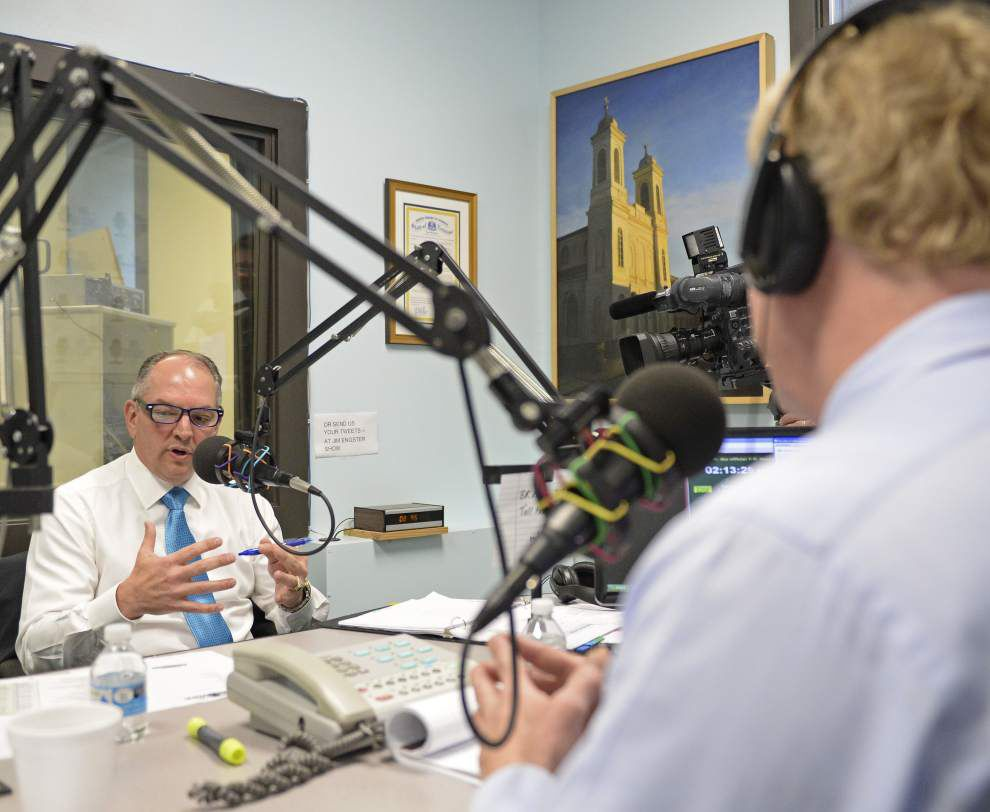 Gov. John Bel Edwards fields questions from listeners as monthly radio show debuts _lowres