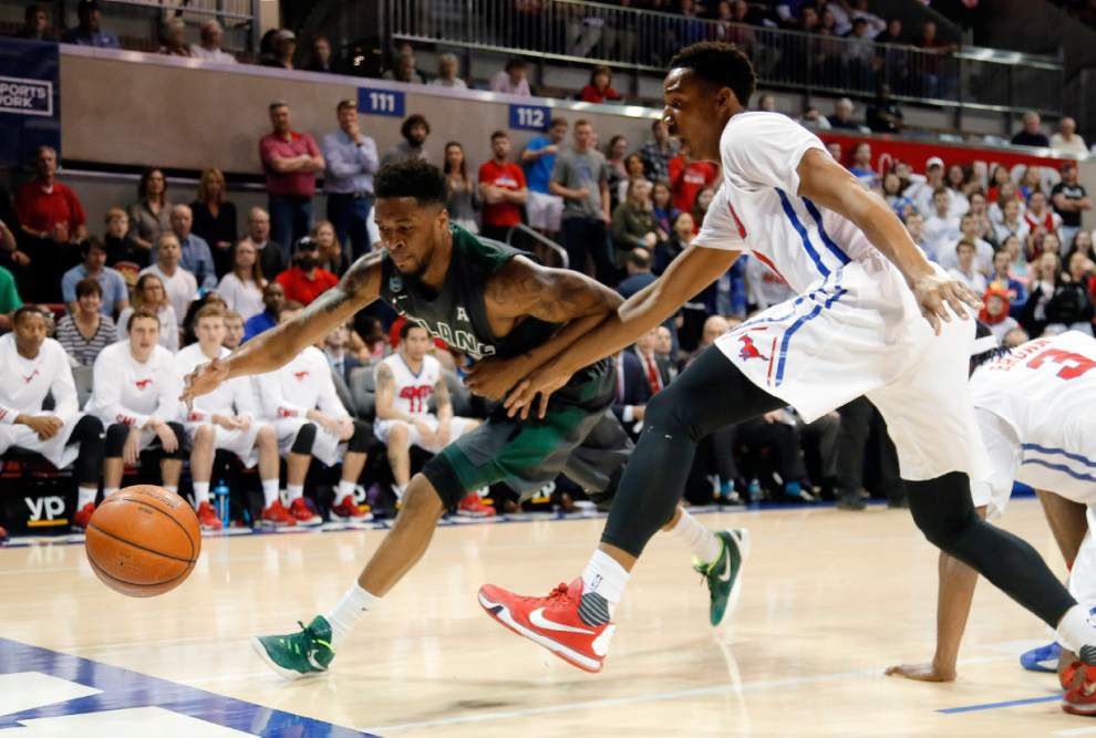 Ben Moore, Sterling Brown lead No. 24 SMU past Tulane 74-53 _lowres