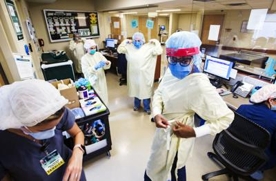 An inside look at coronavirus' strain on Lafayette General: Halted surgeries, expanded ICU, more