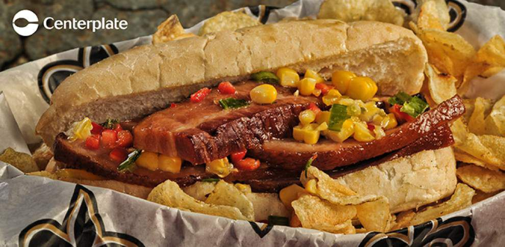 Root beer chicken nachos, s'mores bread pudding just some of new menu items at the Superdome this season _lowres