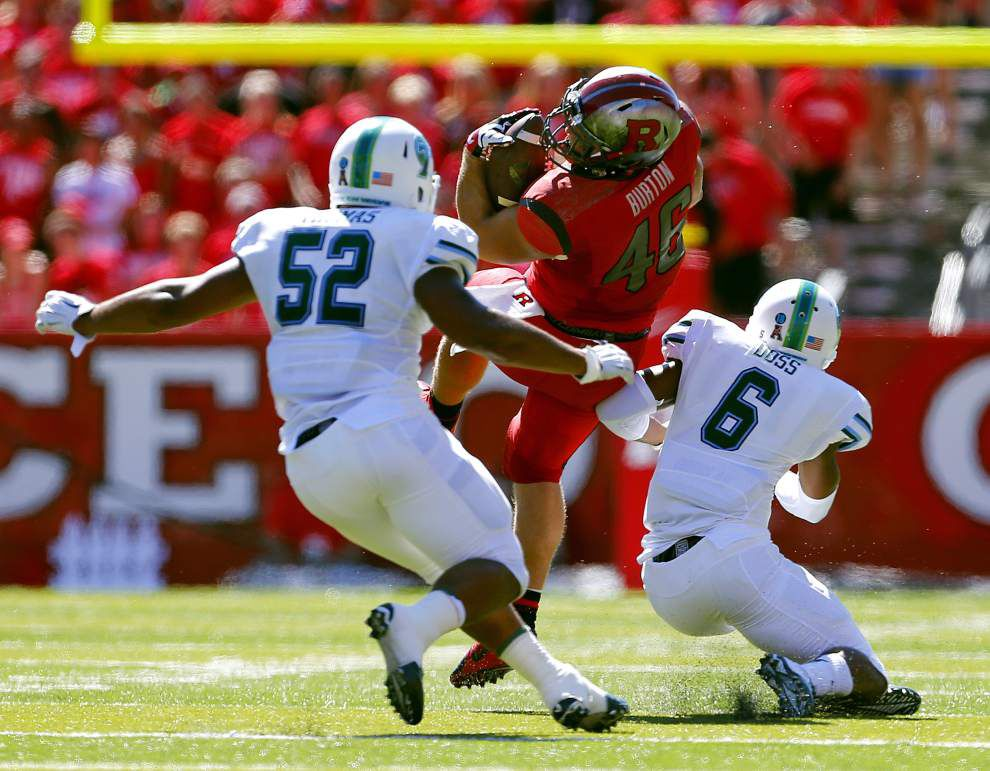 Curtis Johnson frustrated by play of Tulane defensive backs _lowres