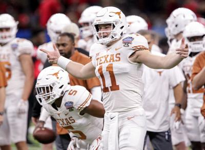 Sam Ehlinger Pays Tribute To Drew Brees Leads Texas Past