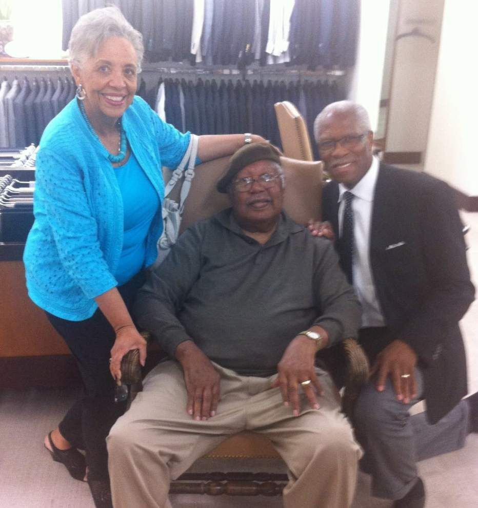 Common Ground: Legendary Louisiana author Ernest Gaines gets a suit fitting, shares a childhood memory _lowres