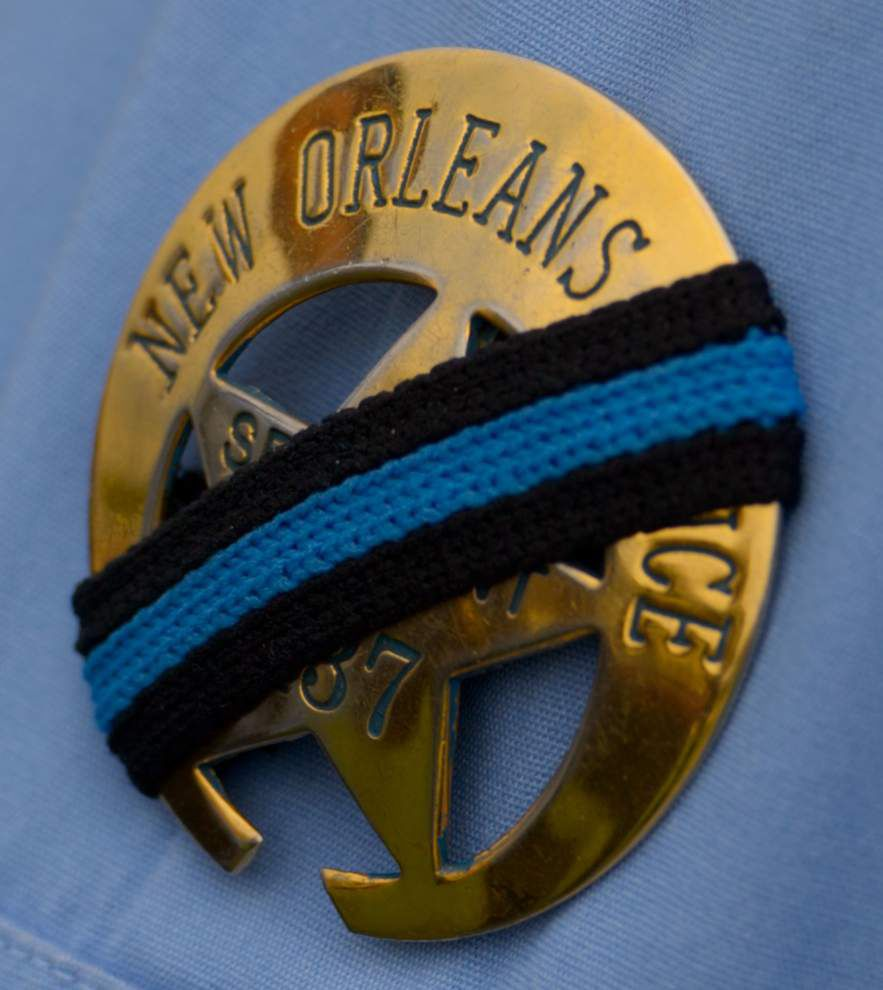 Hundreds pay final respects to NOPD officer Natasha Hunter _lowres