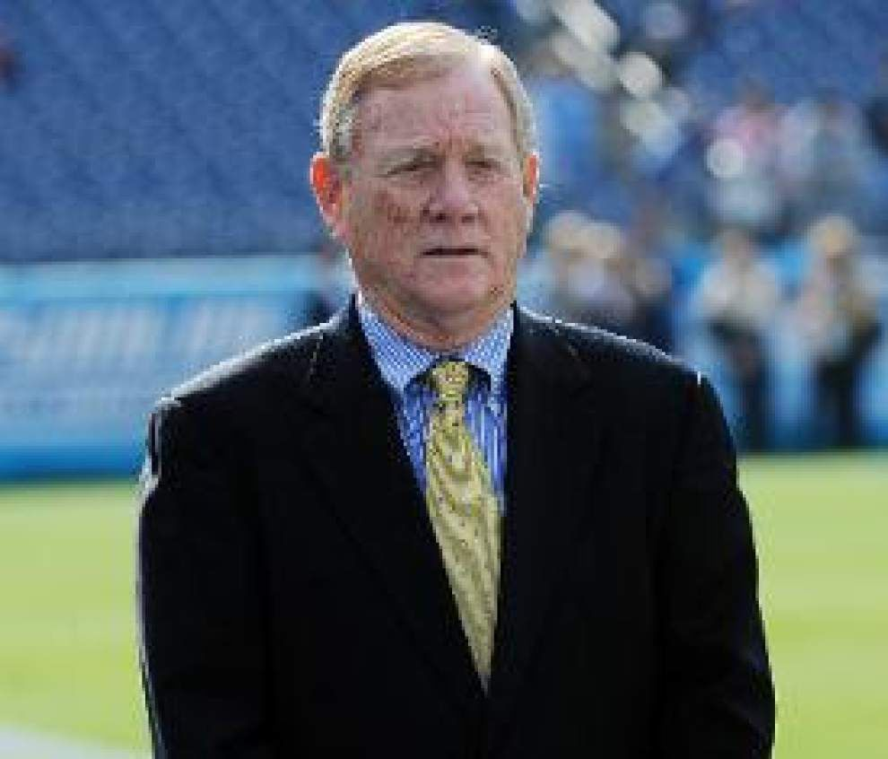 ESPN NFL expert Bill Polian expects the Saints to be aggressive in the NFL draft _lowres
