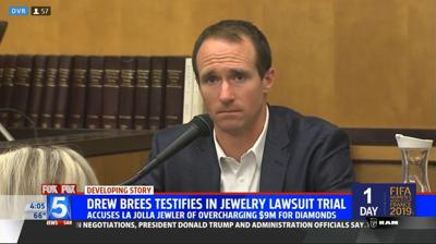 Video: Jury hears closing arguments in trial between Saints' Drew Brees, San Diego jeweler