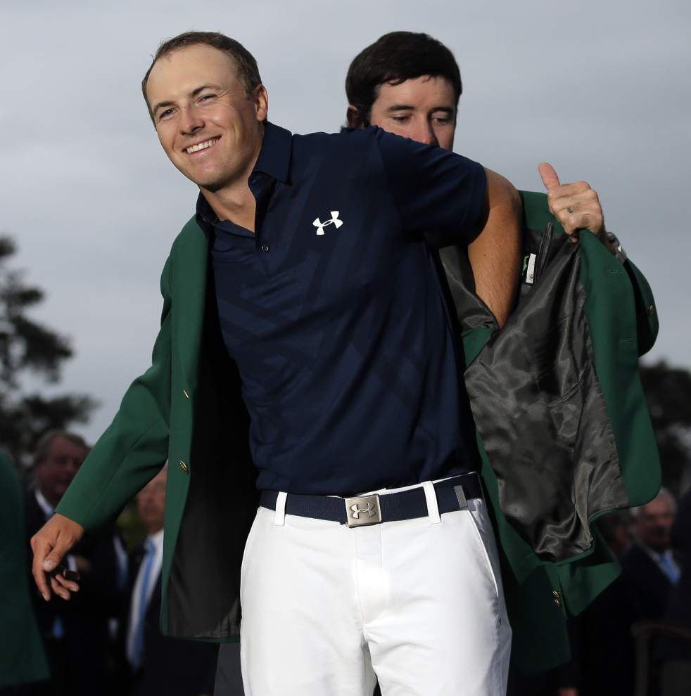 Rabalais: What pressure? Jordan Spieth never flinched on his way to the Masters title _lowres