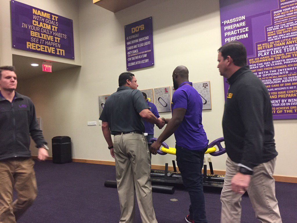 Orgeron and Fournette