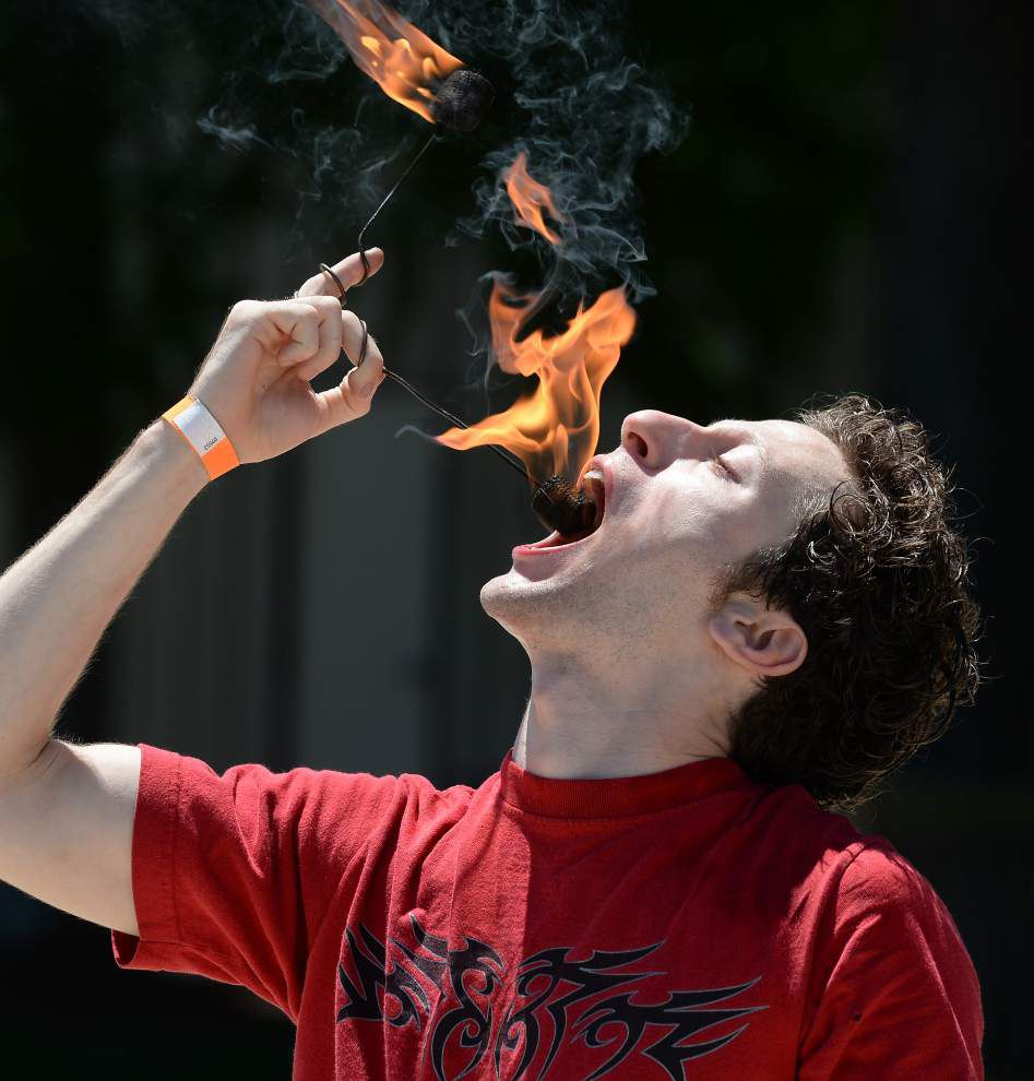 Photos: Family Fest raises awareness for homeless children with fire-breathing flair _lowres