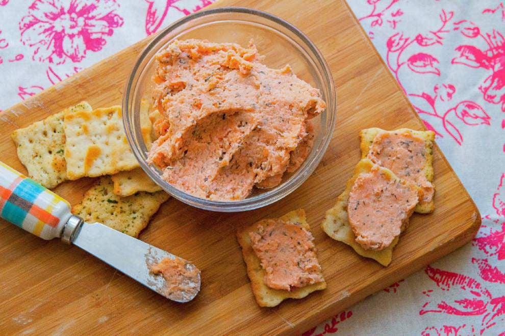 Fresh Ideas: Creamy Salmon Pâté healthy Lent choice _lowres