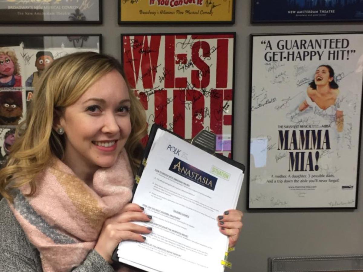 Molly Rushing makes it to Broadway   Livingston/Tangipahoa